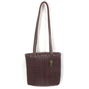Nine West Vintage Basket Weave Hand/Shoulder Bag